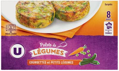 Palets de légumes courgette, petits légumes - Produit - fr