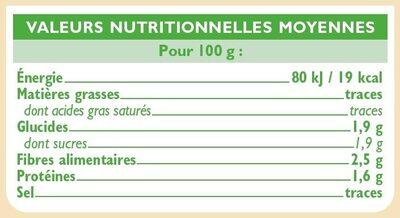 Choux fleurs Bio - Ingredienti - fr