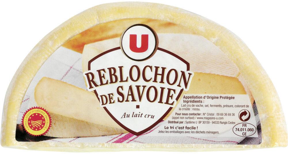 demi Reblochon de Savoie fruitier AOP lait cru 27% de MG - Produit - fr
