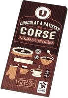 Tablette de chocolat corsé à pâtisser noir 64% - Product - fr