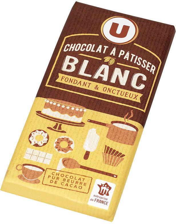 Tablette de chocolat blanc à pâtisser - Produit