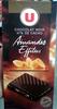 Chocolat noir amandes effilées - Product