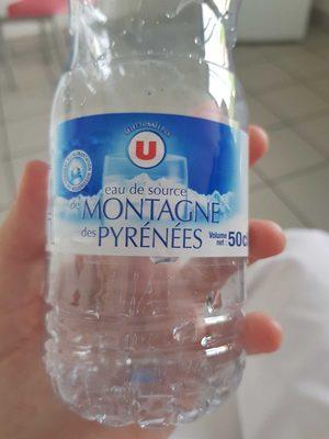 Eau de source de montagne des Pyrénées - Product - fr