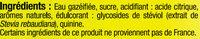 Tonic - Ingredients