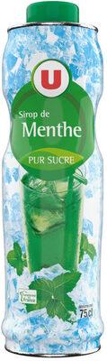 Sirop de menthe verte - Produit - fr