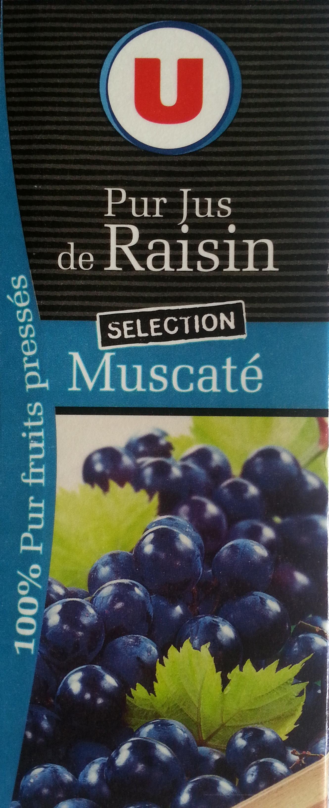 Pur jus de raisin Sélection Muscaté - Product