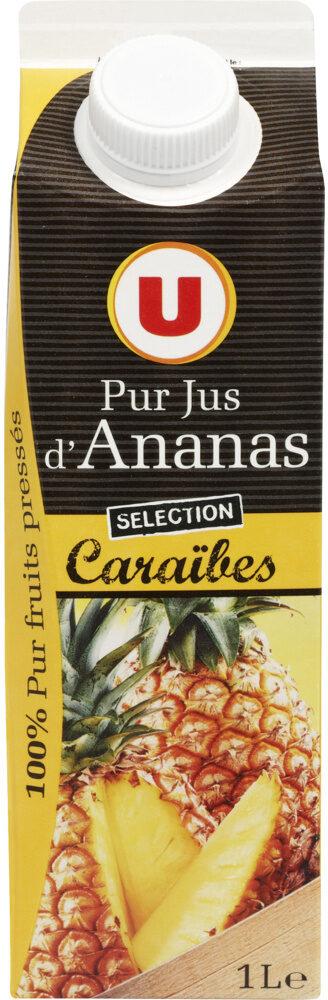 Pur jus d'ananas des Caraïbes - Produit - fr