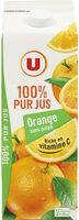 Pur jus orange sans pulpe - Produit - fr