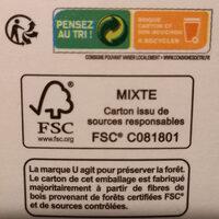 Pur jus orange sans pulpe - Instruction de recyclage et/ou informations d'emballage - fr