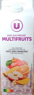 Pur jus pressé multifruits - Produit - fr
