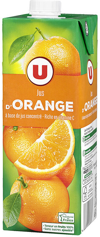 Jus à base de concentré d'orange - Product - fr