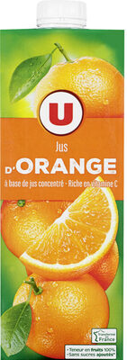 Jus à base de concentré d'orange - Prodotto - fr