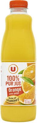 Pur jus d'orange avec pulpe - Product - fr