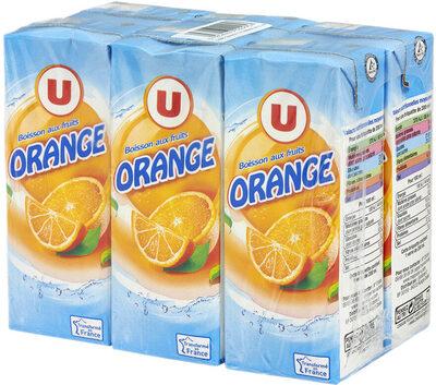 Boisson plate à l'orange, - Product