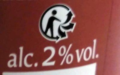Cidre doux 2° - Informations nutritionnelles - fr