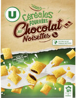 Céréales fourrées au chocolat et noisettes - Produit - fr