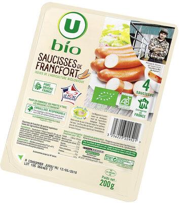 Saucisses de Francfort - Produit