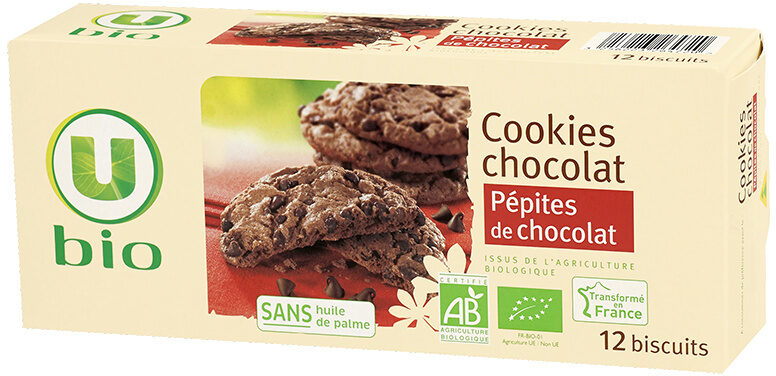 Cookies chocolat pépite de chocolat - Produit