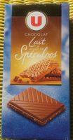 Chocolat Lait éclats de Spéculoos - Product