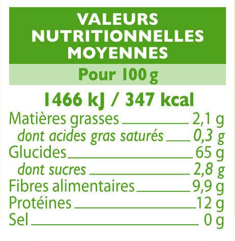 Macaroni complet - Voedingswaarden - fr
