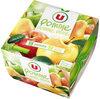 Dessert de fruits pomme et pomme poire - Produit
