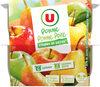 Dess.fruit.panaché 4 pomme.+ 4 pomme/poire all.sucre - Produkt