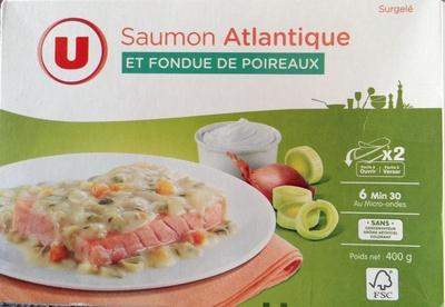 Saumon Atlantique et Fondue de Poireaux, Surgelé - Produkt