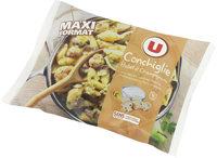 Conchiglie poulet champignons - Produit - fr