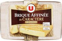 Fromage Brique pasteurisé affinée de caractère 31% de MG - Produit - fr
