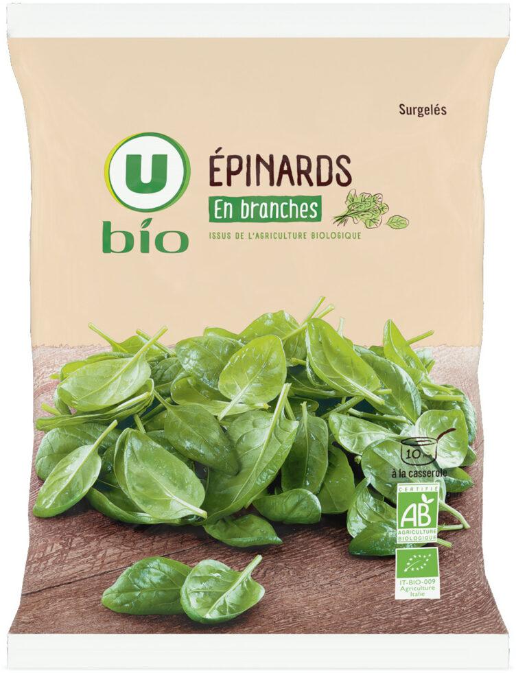 Epinards en branches - Prodotto - fr