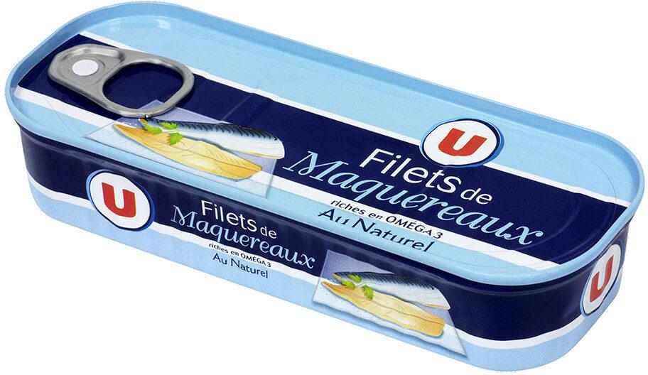 Filets de Maquereaux au naturel - Product