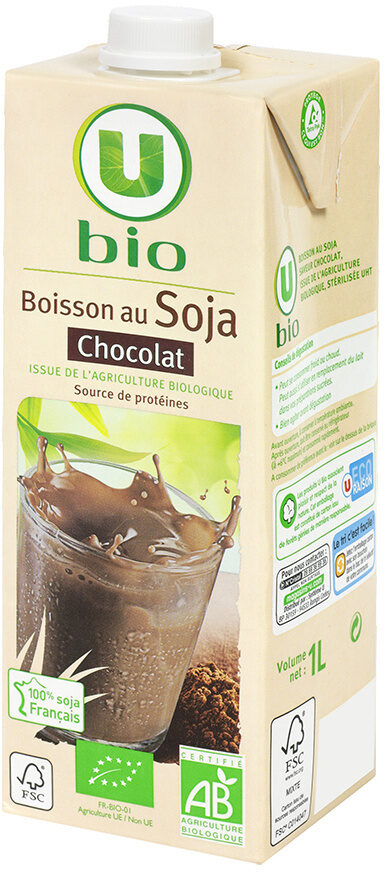 Boisson soja au chocolat - Product - fr