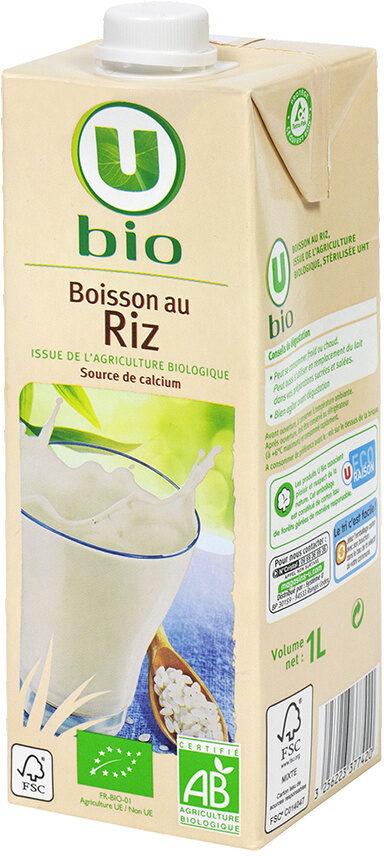 Boisson bio au riz - Product