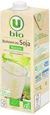 Boisson bio au jus de soja nature - Product - fr