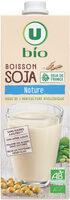 Boisson soja nature - Product - fr
