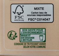 Boisson soja nature - Recycling instructions and/or packaging information - en
