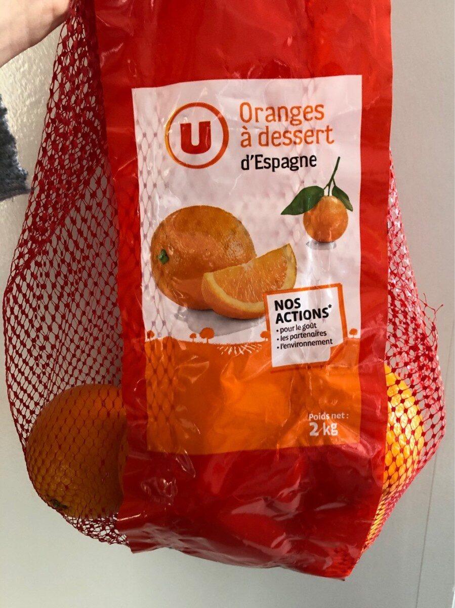 Orange à dessert Navel Powell, calibre 5/6 catégorie 1 - Product