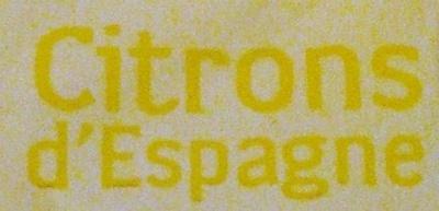Citron jaune Primofiori, calibre 4 catégorie 1 - Ingrediënten - fr
