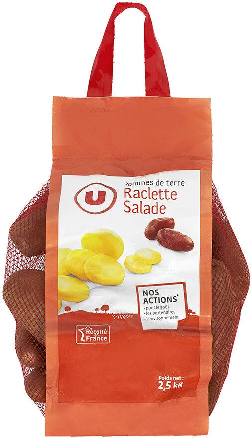 Pomme de terre Franceline, de consommation à chair ferme, cal.35/52mm cat.1 - Product