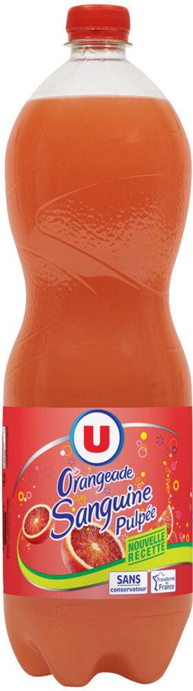 Orangeade pulpée sanguine - Product - fr
