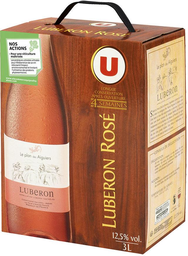 Vin rosé AOP Lubéron Plan des Aiguiers - Product