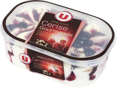 crème glacée cerise gourmande - Product