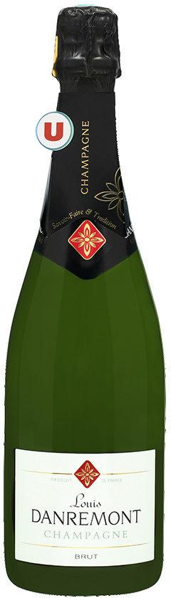 Champagne brut Louis DANREMONT - Product