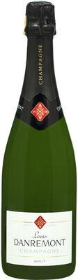 Champagne brut Louis DANREMONT - Product - fr