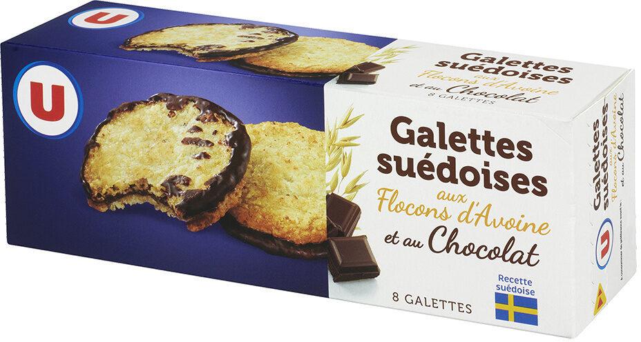 Galettes Suédoises à Lavoine Et Double Chocolat U 150 G