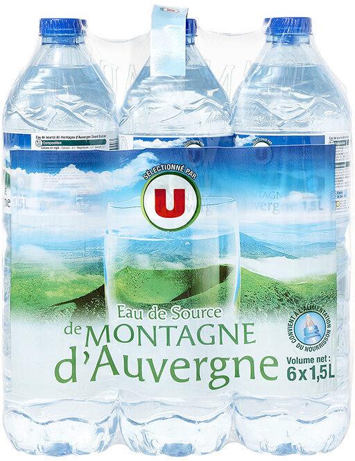 Eau de source de montagne d'Auvergne - Product