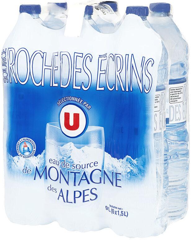 Eau de source naturelle des Alpes - Product