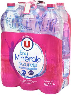 Eau minérale naturelle - Product
