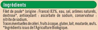 Blanc de volaille - Ingrédients - fr