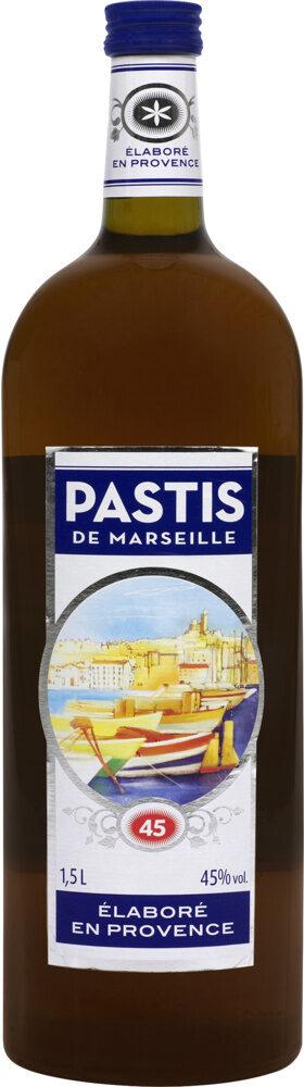 Pastis de Marseille 45° - Prodotto - fr